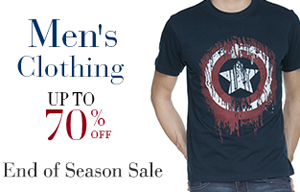 Men's Clothing - Up to 70% Off
